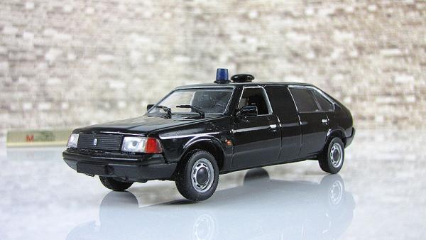 Алеко-Президент, мед. Болгария (Vector-Models) [1986г., черный, 1:43]