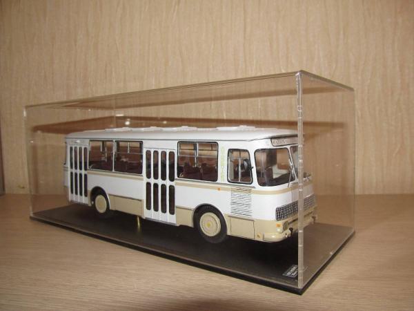Кавз-3100 Сибирь (Nik models) [1973г., белый/бежевый, 1:43]