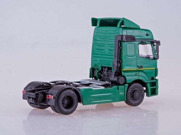 КАМАЗ-5490 седельный тягач (ПАО КАМАЗ) [2013г., зеленый, 1:43]
