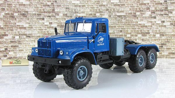 рАЗ-255В1 седельный тягач (Наш Автопром) [1970г., синий, 1:43]