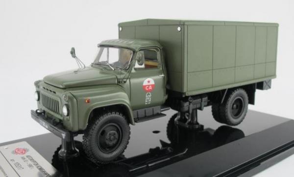 """АФК-53 """"Автофургон Комбинированный (DiP Models) [1980г., зеленый, 1:43]"""