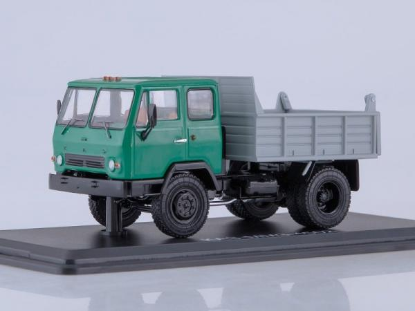 КАЗ-ММЗ-4502 самосвал (Start Scale Models (SSM)) [1965г., зеленый/серый, 1:43]