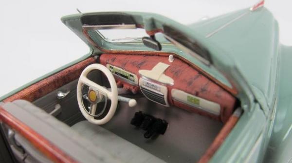 ЗИС-110 кабриолет (DiP Models) [1945г., бленый зелёный, 1:43]