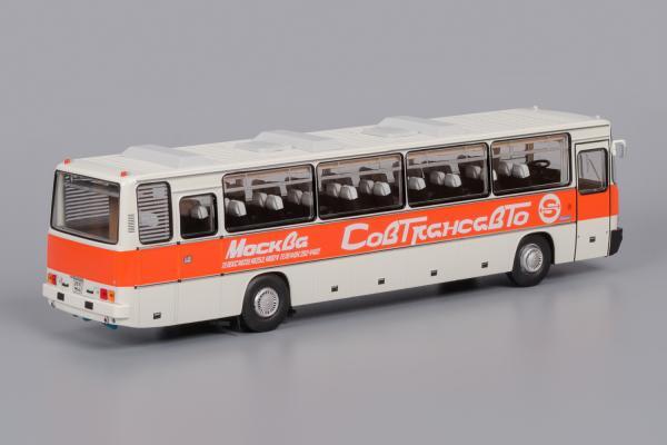 """Икарус (Ikarus) -250.58 Совтрансавто (Classicbus) [1980г., белый, красная полоса, надпись """"Совтрансавто"""", 1:43]"""