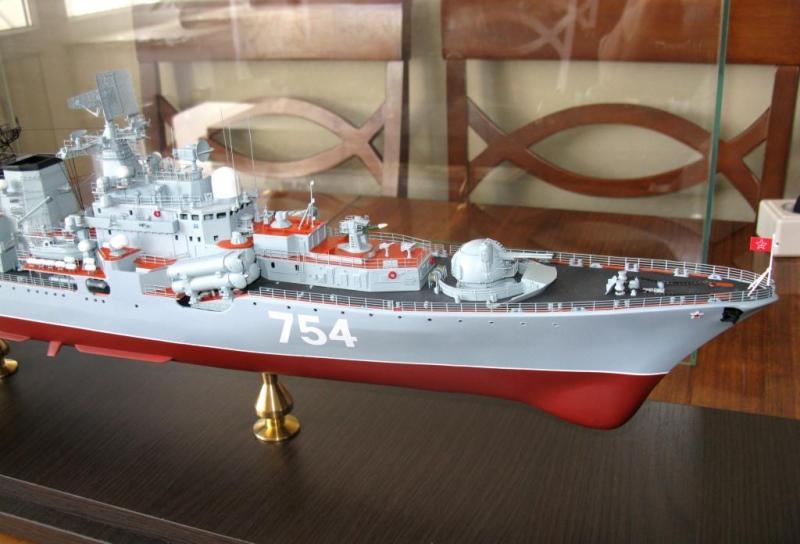Модель эсминца пр.956 готова 02