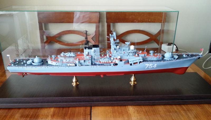 Модель эсминца пр.956 готова 06