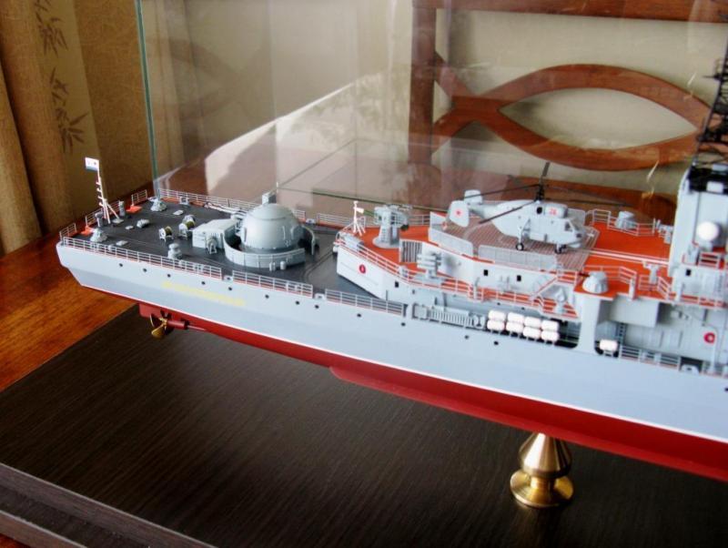 Модель эсминца пр.956 готова 04