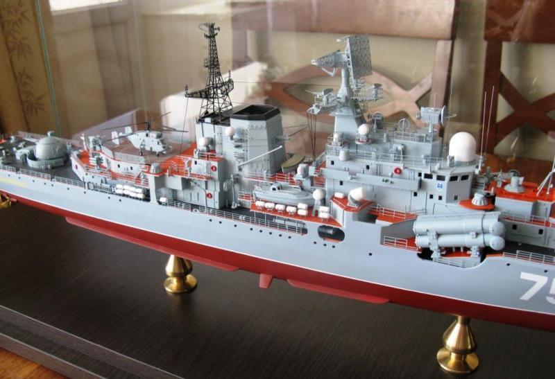 Модель эсминца пр.956 готова 03