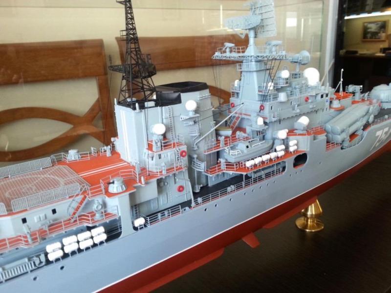 Модель эсминца пр.956 готова 01
