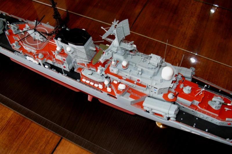 Модель эсминца пр.956 готова 05