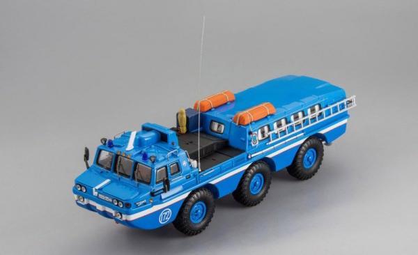 """ЗиЛ-49061 """"МЧС (DiP Models) [1980г., синий, 1:43]"""