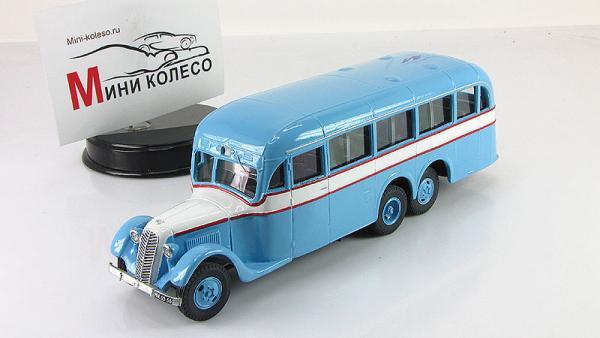 АТУЛ АЛ-2 городской (Vector-Models) [1937г., голубой/белый/красный, 1:43]