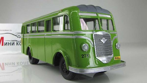 АТУЛ Л-1 городской (ранний) (Vector-Models) [1946г., зеленый/серый, 1:43]