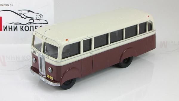 АТУЛ Л-1, городской поздний (Vector-Models) [1948г., бежевый/коричневый, 1:43]
