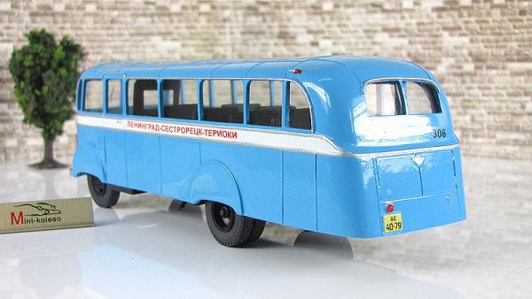 АТУЛ Л-II пригородный (Vector-Models) [1947г., голубой/белый, 1:43]
