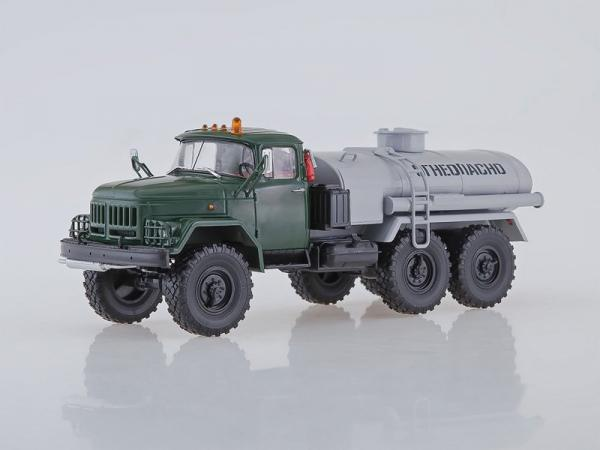 ЗИЛ-131 АЦ-4,0 (Автоистория (АИСТ)) [1958г., зеленый/серый, 1:43]