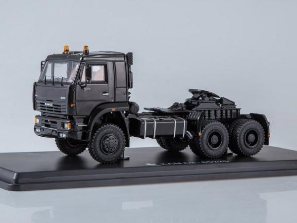 КАМАЗ-65225 (Start Scale Models (SSM)) [2006г., черный, 1:43]