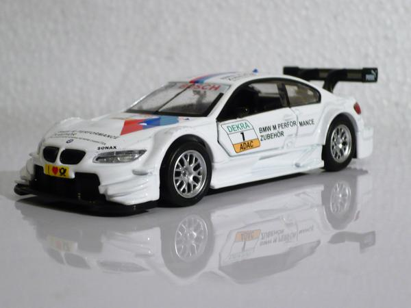 BMW M3 DTM (MSZ (Hong Kong)) [2012г., белый, 1:43]
