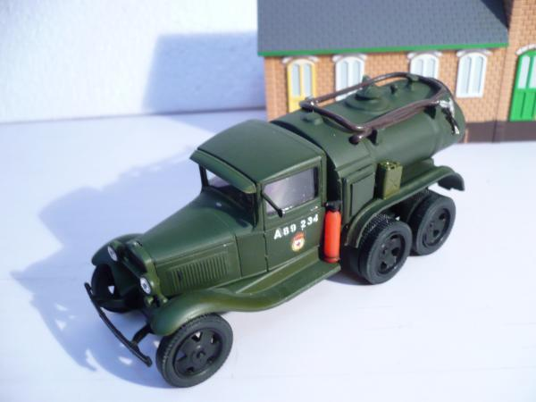 БЗ-38У на базе Газ-ААА (Michalych) [1938г., хаки, 1:43]