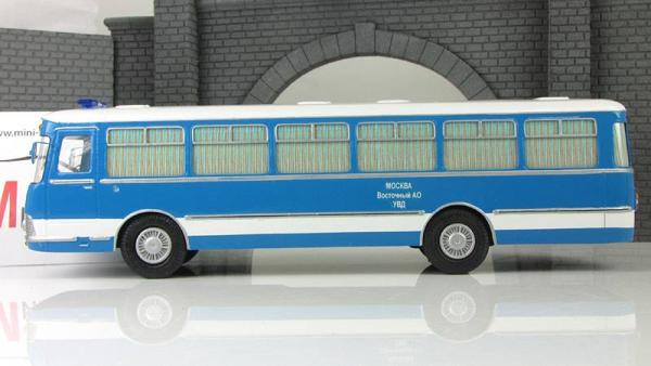 Лиаз-677 штабной (Vector-Models) [1972г., синий/белый, 1:43]