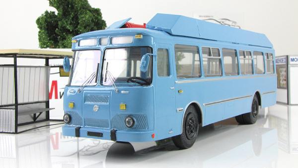 Лиаз-677МГ пропан (Vector-Models) [1983г., голубой, 1:43]