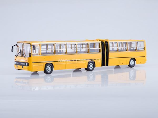 Ikarus-280.33 (Советский автобус) [1990г., желтый, 1:43]