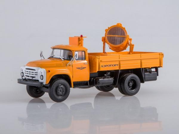 ЗИЛ-130 (АПМ-90) (Автоистория (АИСТ)) [1974г., оранжевый, 1:43]