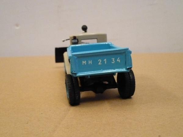 ГАЗ-410 (С-1) (Michalych) [1935г., бежевый с голубым, 1:43]