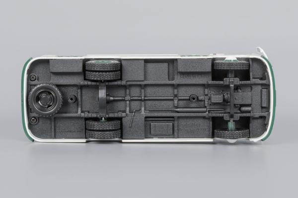 ПАЗ-672 (Classicbus) [1980г., белый, синие полосы, 1:43]
