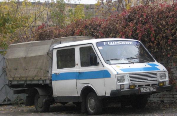 РАФ-3311-01 (Michalych) [1994г., голубой с белым, 1:43]