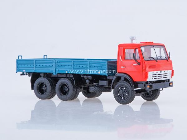 Камаз-5320 (Start Scale Models (SSM)) [1976г., синий/красный, 1:43]