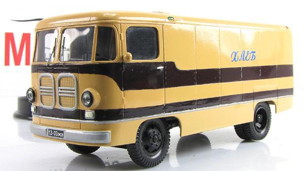 АРТ-ТА9А хлебный фургон (Vector-Models) [1962г., бежевый/коричневый, 1:43]