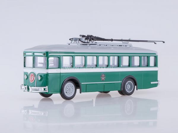 """ЛК-2 """"Лазарь Каганович (Советский автобус) [1934г., зеленый/белый, 1:43]"""