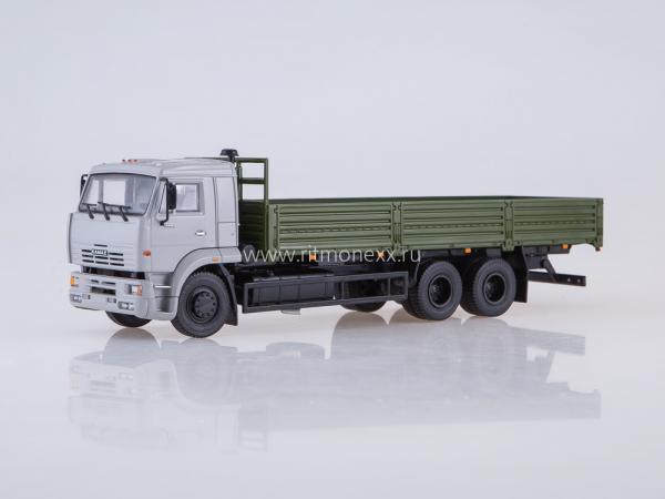 КАМАЗ-65117 (ПАО КАМАЗ) [2004г., зеленый/серый, 1:43]