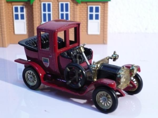 PACKARD LANDAULET (LESNEY MODELS OF YESTERDAY) [1912г., вишнёвый, 1:43]