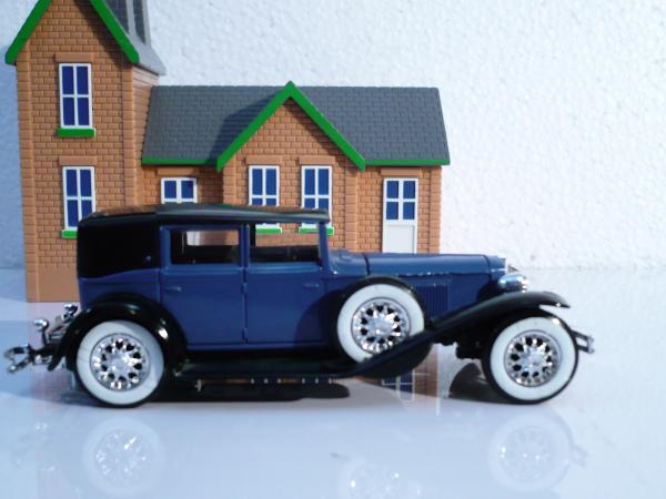 Cord L 29 (Solido, France) [1929г., синий с чёрным, 1:43]