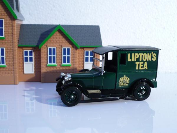 Talbot Van (Matchbox) [1927г., зелёный, 1:43]