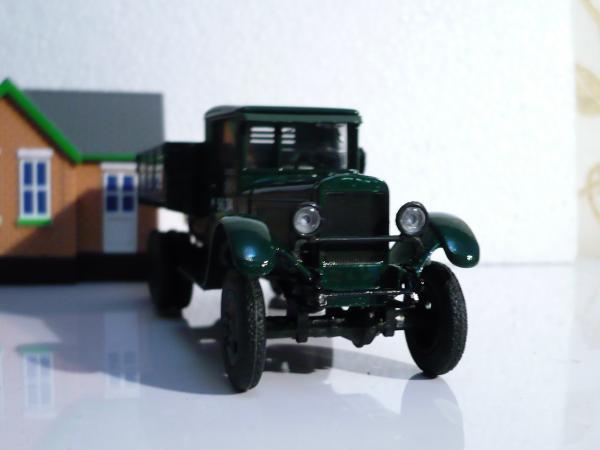 ЗИС-36 (6х6) (Наш Автопром) [1941г., тёмно-зелёный, 1:43]