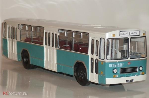 ЗиУ-8 (ЗиУ-5250) (Vector-Models) [1974г., белый/зеленый, 1:43]