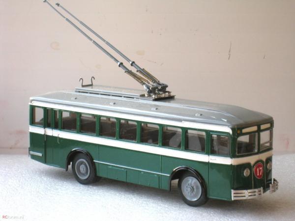 ЛК-2 «Лазарь Каганович» (Vector-Models) [1934г., белый/зеленый, 1:43]