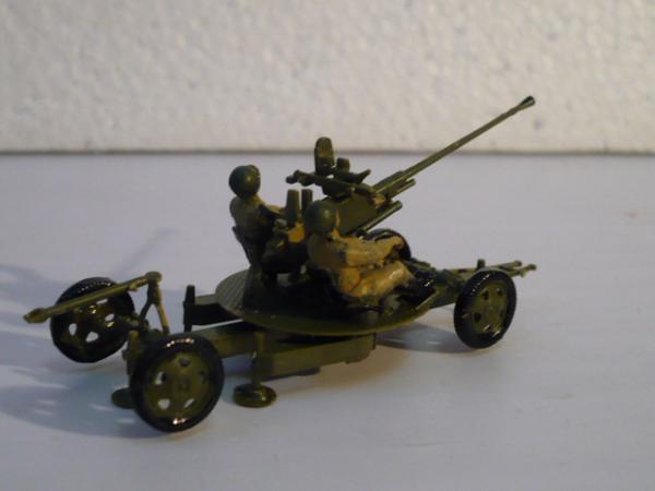 37-мм автоматическая зенитная пушка образца́ 1939 года (61-К) (ОАО Звезда) [хаки, 1:72]