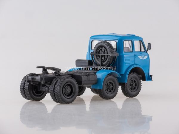 МАЗ-520 седельный тягач (Наш Автопром) [1965г., синий, 1:43]