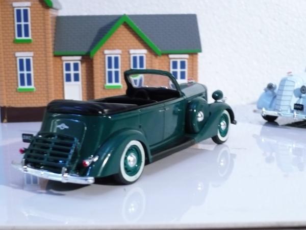 ЗИС-102А кабриолет (АЛ, Michalych) [1939г., тёмно-зелёный, 1:43]