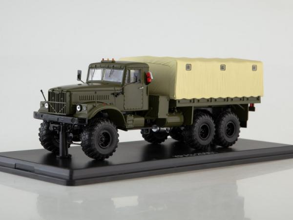 КРАЗ-255Б1 (Start Scale Models (SSM)) [1967г., хаки/бежевый, 1:43]