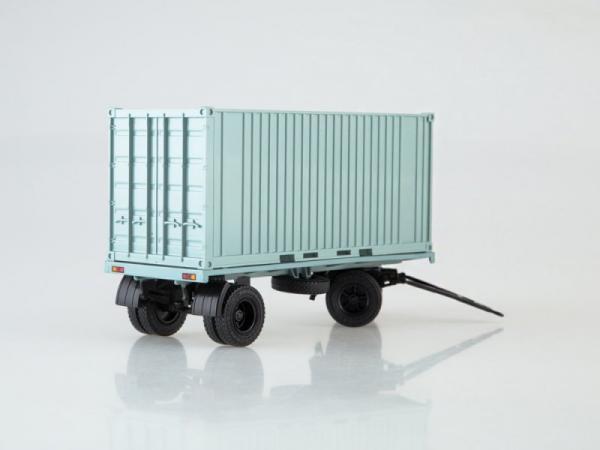 ГКБ-8350 Контейнер (Автоистория (АИСТ)) [1976г., серый, 1:43]