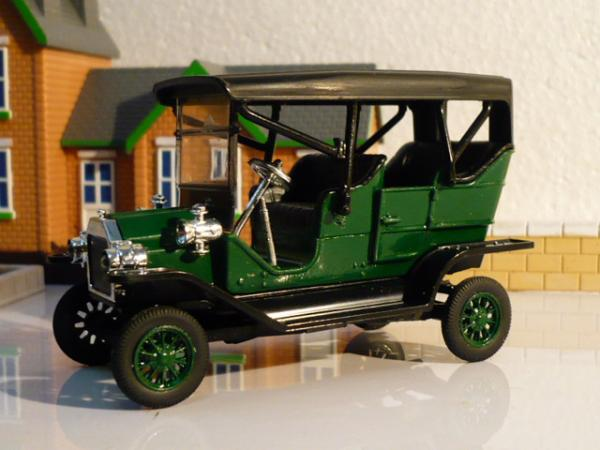 Ford Model-T Touring Car (Michalych) [1908г., зелёный с черным, 1:43]