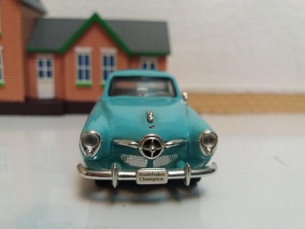 Studebaker Campion (Road Signature) [1950г., голубой, 1:43]