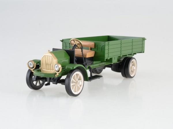 Уайт-Амо (DeAgostini (Автолегенды СССР)) [1924г., зелёный, 1:43]