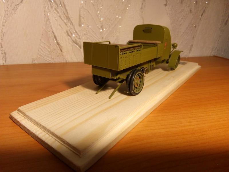 Руссо-Балт М24/40 бронированный арядный ящик. студия