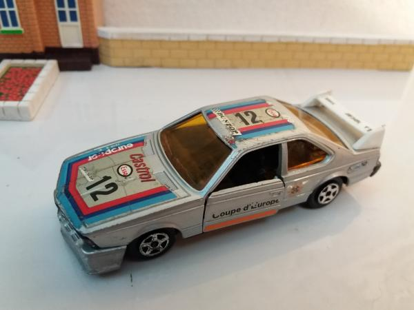BMW 635 CSI (e24) (Norev Jet-Car, France) [1976г., серебристый, 1:43]